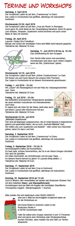 workshops2016