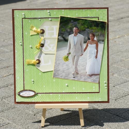 Layout Hochzeit, Layout Brautpaar