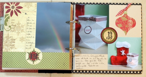Adventsbuch der Scrapbook Laden Hockenheim