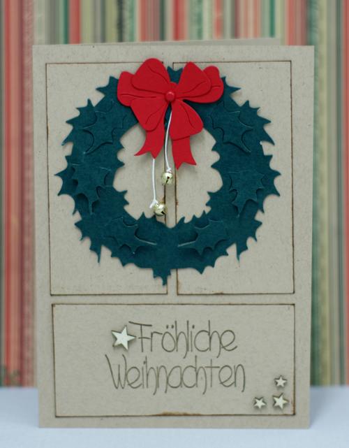 froehliche Weihnachten Weihnachtskarte