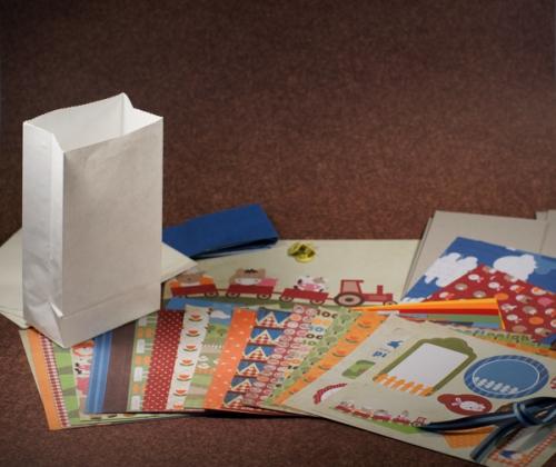 Paper Bag Album Bauernhof