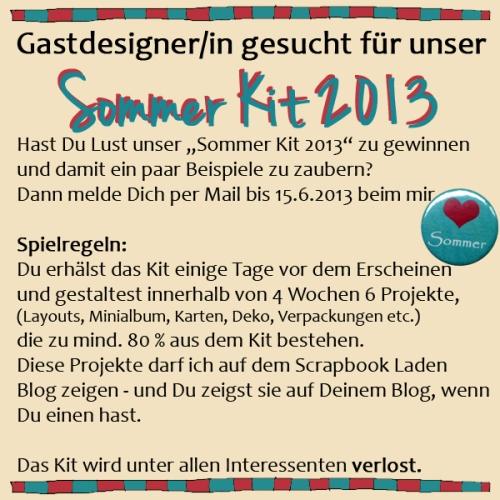 Gastdesigner/in Scrapbook Kit