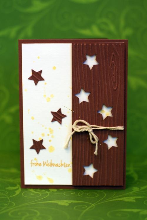 Noch mehr weihnachtskarten der scrapbook laden blog - Weihnachtskarten mit kindern gestalten ...