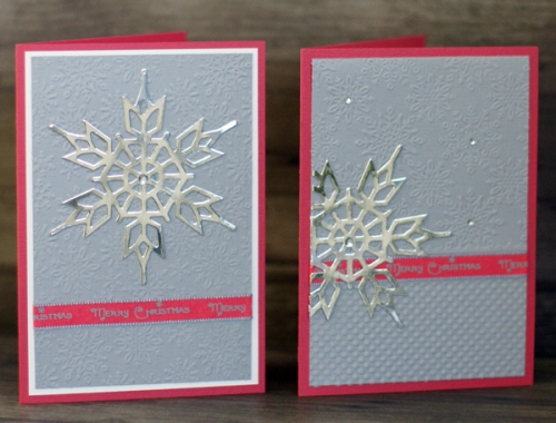 Weihnachtskarte pink