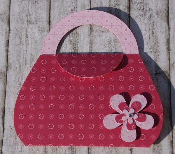 Toll Einladung_Handtasche_rosa