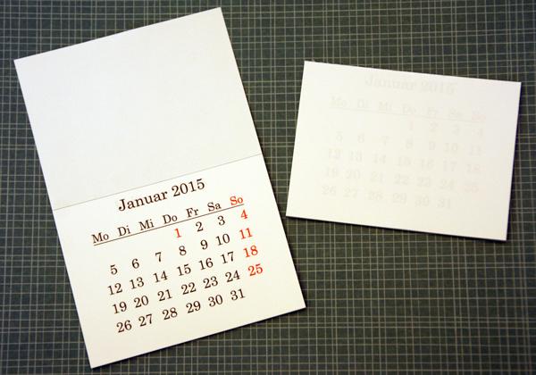 Mini Kalender 2015 : mini kalender der scrapbook laden blog ~ Watch28wear.com Haus und Dekorationen