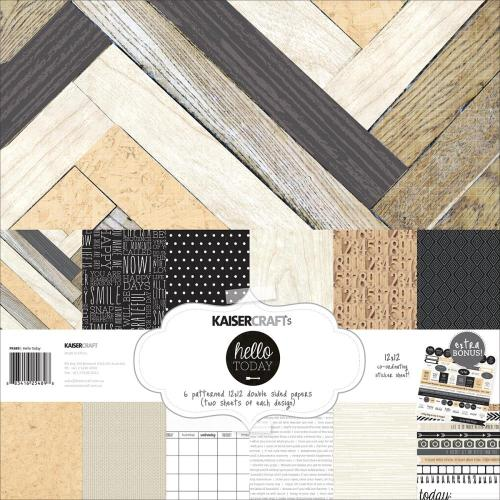 Kaisercraft Hello Today Paper Pack