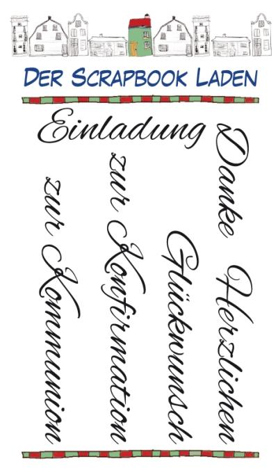 Kommunion Konfirmation Stempel