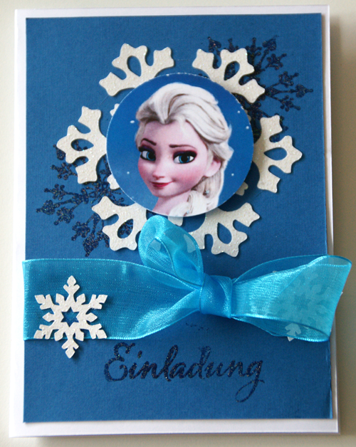 Einladung Eiskönigin