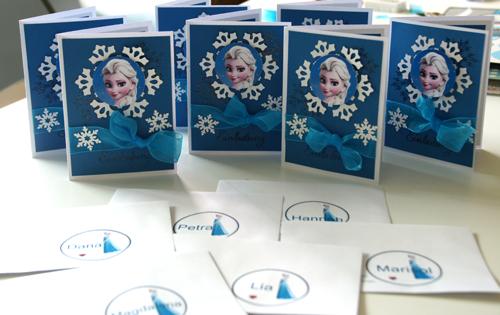 Eiskönigin Einladung Der Scrapbook Laden Blog