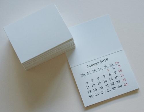 Mini Kalender 2016