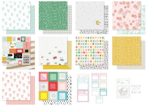 Seven Paper Clara Studio Calico